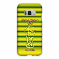 Coque Samsung Galaxy S8 Plus + coupe monde football 2018