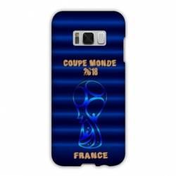 Coque Samsung Galaxy S8 Plus + coupe monde football 2018