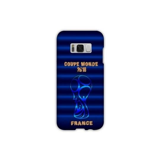 Coque Samsung Galaxy S8 coupe monde football 2018