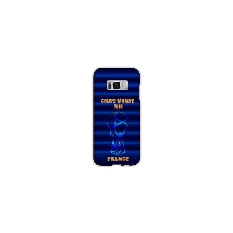 Coque Samsung Galaxy S8 coupe monde football 2018