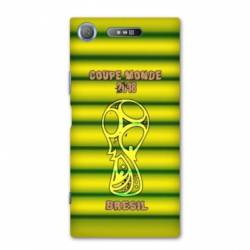 Coque Sony Xperia XZ1 COMPACT coupe monde football 2018