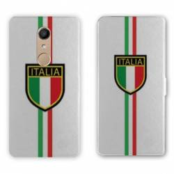 RV Housse cuir portefeuille Nokia 8 Italie