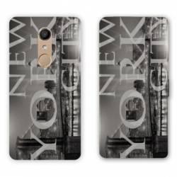 RV Housse cuir portefeuille Nokia 8 Amerique