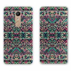 RV Housse cuir portefeuille Nokia 8 motifs Aztec azteque