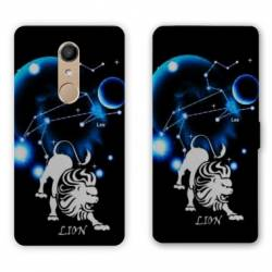 RV Housse cuir portefeuille Nokia 8 signe zodiaque