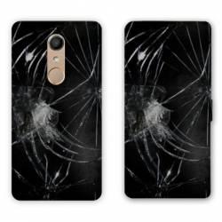 RV Housse cuir portefeuille Nokia 8 Trompe oeil