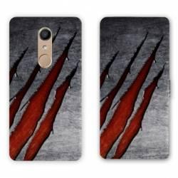 RV Housse cuir portefeuille Nokia 8 Texture