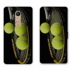 RV Housse cuir portefeuille Nokia 8 Tennis