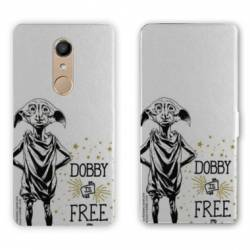 RV Housse cuir portefeuille Nokia 8 WB License harry potter dobby