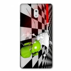 Coque Nokia 1 apple vs android