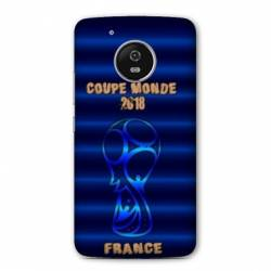 Coque Motorola Moto E4 coupe monde football 2018