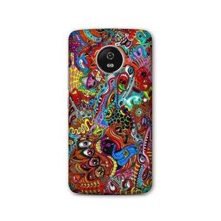 Coque Motorola Moto E4 Psychedelic
