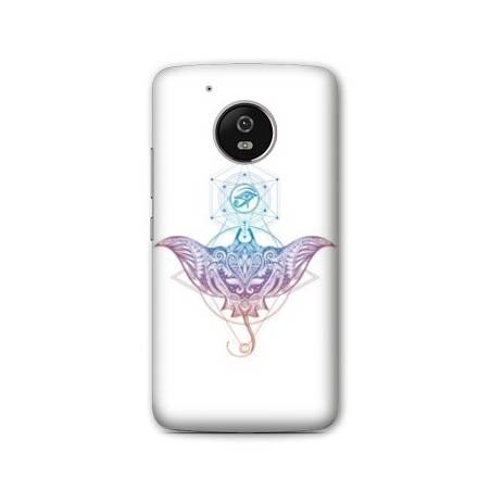 Coque Motorola Moto E4 Animaux Maori