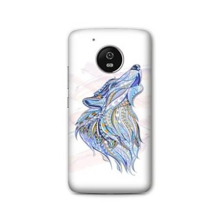 Coque Motorola Moto E4 Animaux Ethniques