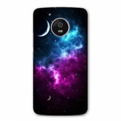 Coque Motorola Moto E4 Espace Univers Galaxie
