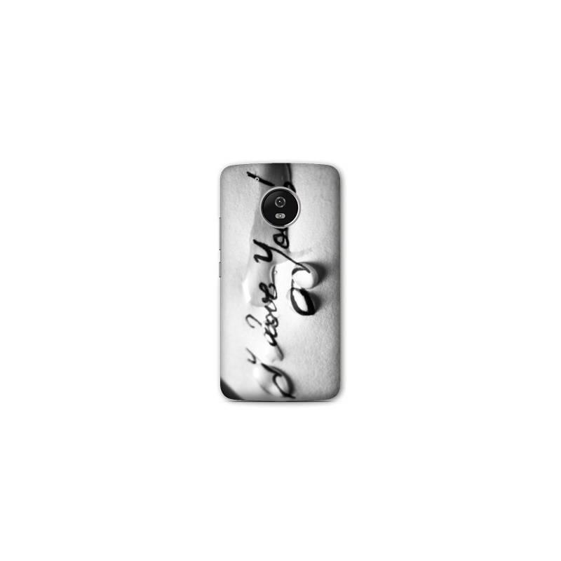Coque Motorola Moto E4 amour