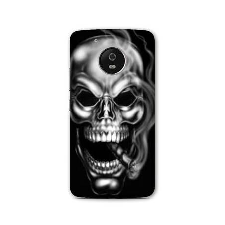 Coque Motorola Moto E4 tete de mort
