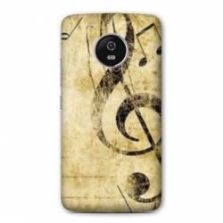 Coque Motorola Moto E4 Musique