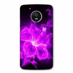 Coque Motorola Moto E4 fleurs
