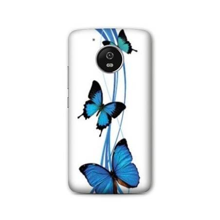 Coque Motorola Moto E4 papillons