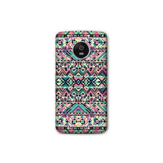 Coque Motorola Moto E4 motifs Aztec azteque