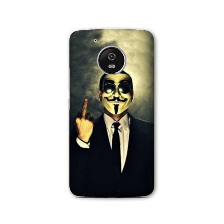 Coque Motorola Moto E4 Anonymous