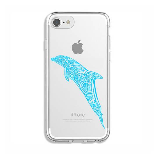 Coque transparente Iphone 6 / 6s dauphin