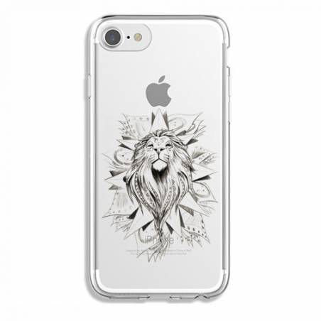 Coque transparente Iphone 6 / 6s lion