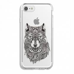 Coque transparente Iphone 6 / 6s loup