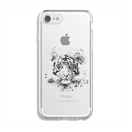 Coque transparente Iphone 6 / 6s tigre