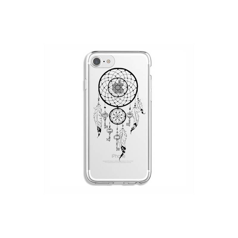 Coque transparente Iphone 6 / 6s feminine attrape reve cle