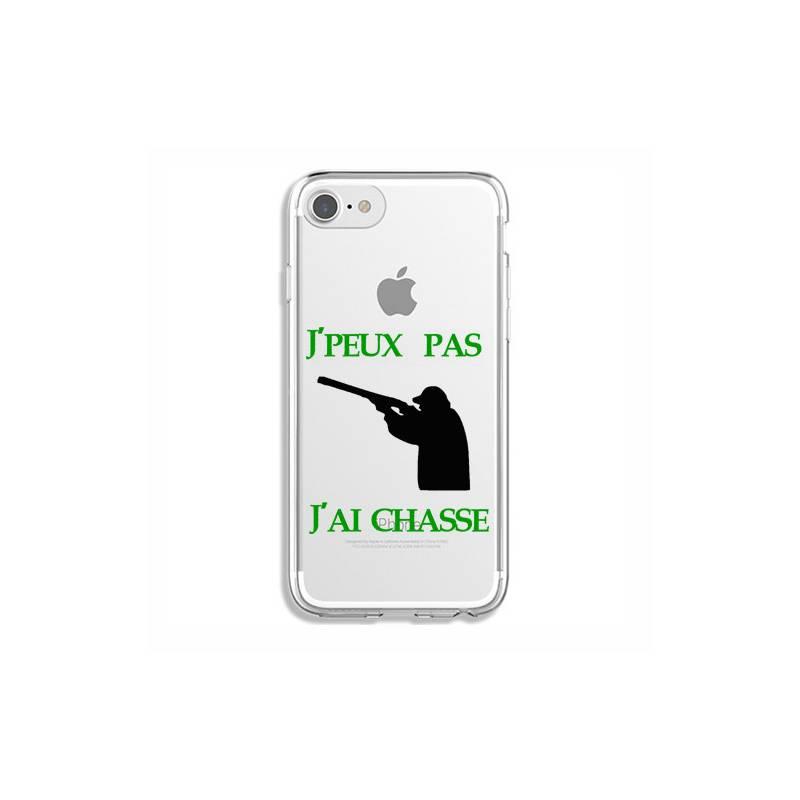 Coque transparente Iphone 6 / 6s jpeux pas jai chasse