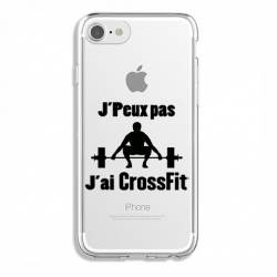 Coque transparente Iphone 6 / 6s jpeux pas jai crossfit