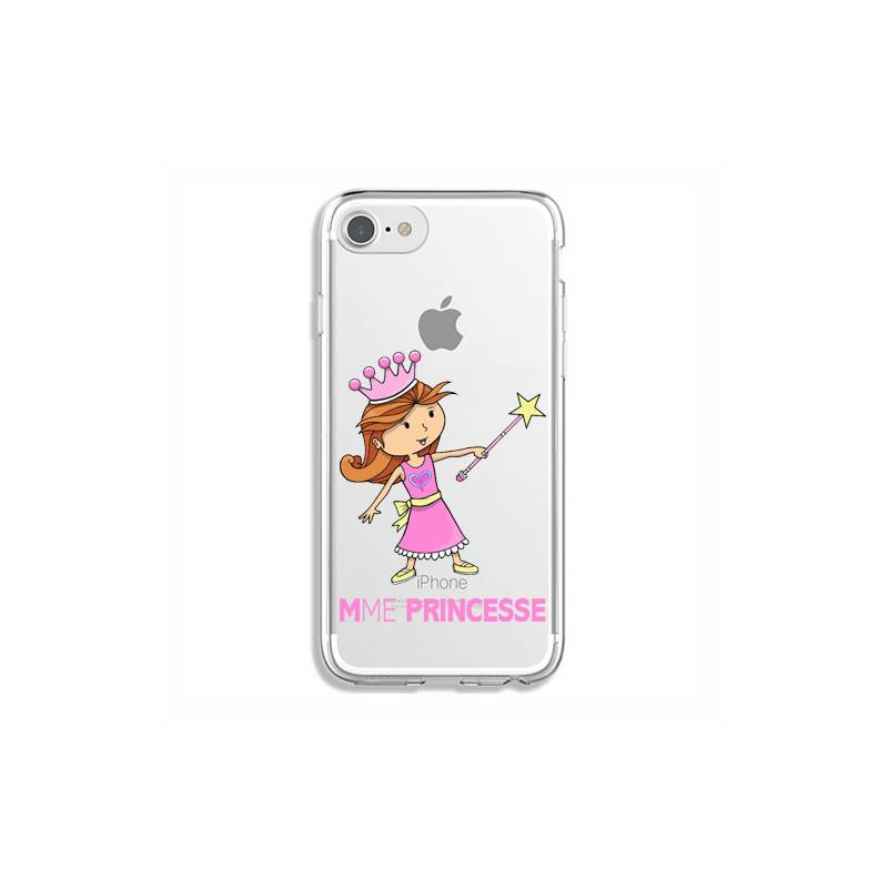 Coque transparente Iphone 6 / 6s magique mme princesse