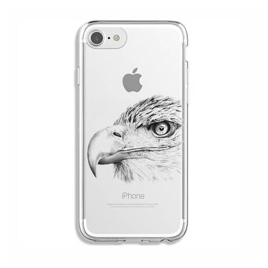 Coque transparente Iphone 7 / 8 aigle