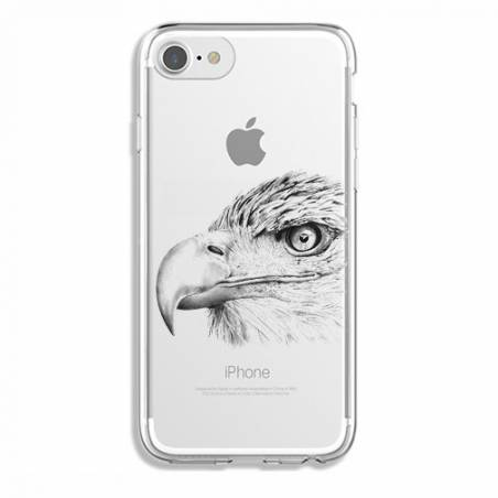 Coque transparente Iphone 7 / 8 aigle