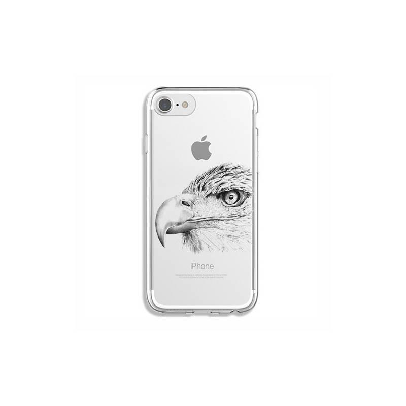 Coque transparente pour iphone 7 / 8 aigle