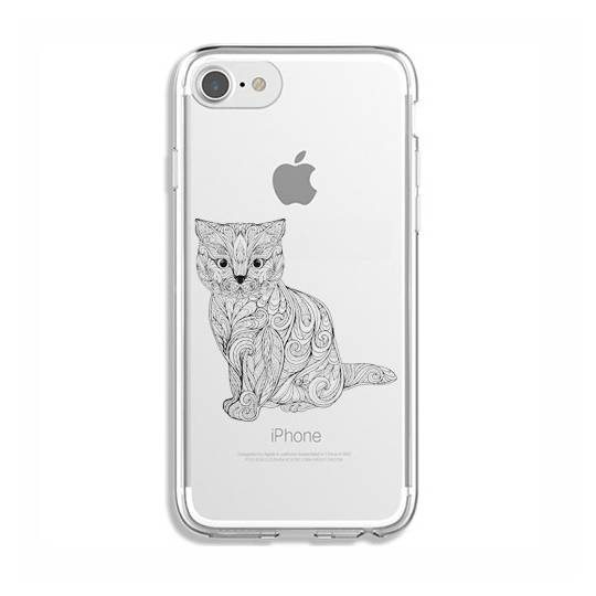 Coque transparente Iphone 7 / 8 chat