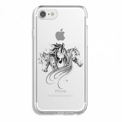 Coque transparente Iphone 7 / 8 chevaux