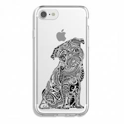 Coque transparente Iphone 7 / 8 chien
