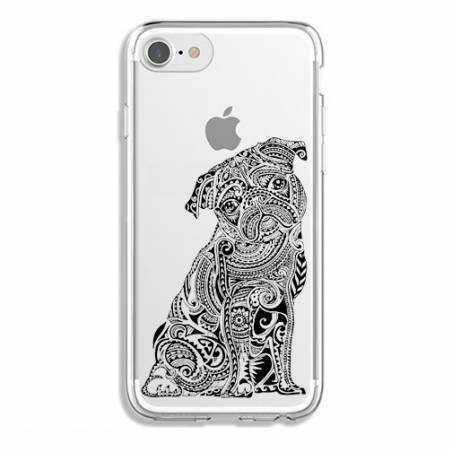 Coque transparente Iphone 7 / 8 chien