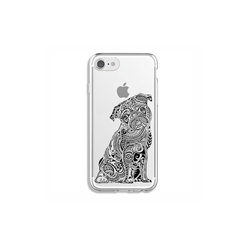 Coque transparente pour iphone 7 / 8 chien