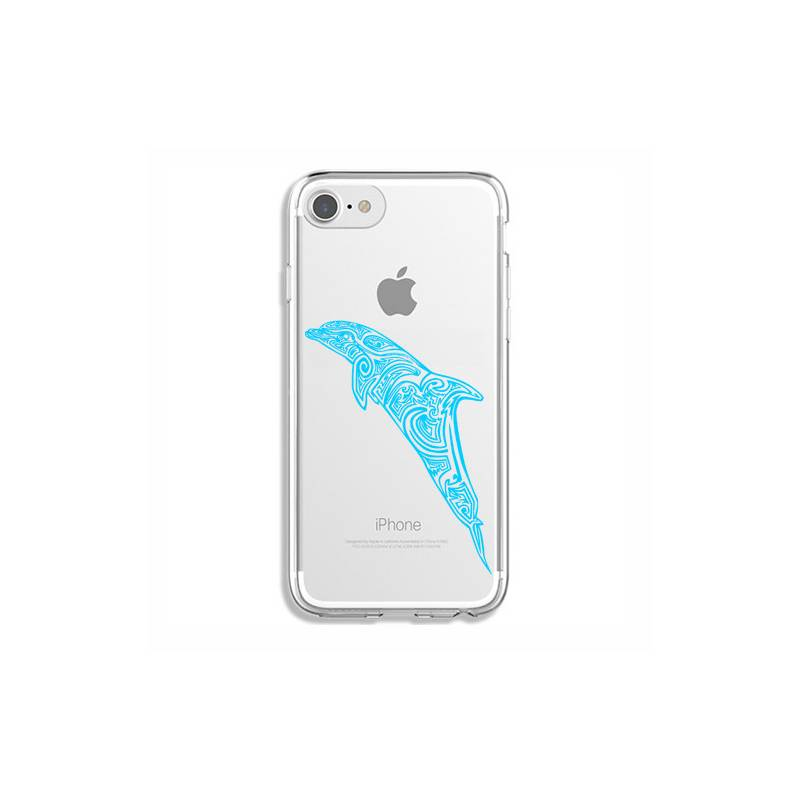 Coque transparente Iphone 7 / 8 dauphin