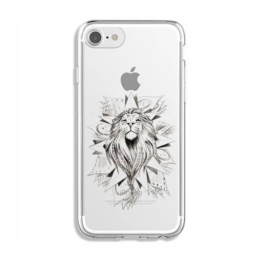 Coque transparente Iphone 7 / 8 lion