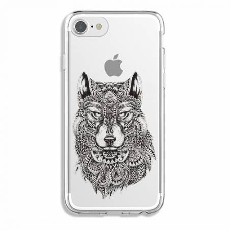 Coque transparente Iphone 7 / 8 loup