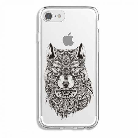 Coque transparente Iphone 7 / 8 loup