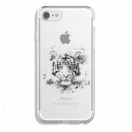 Coque transparente Iphone 7 / 8 tigre