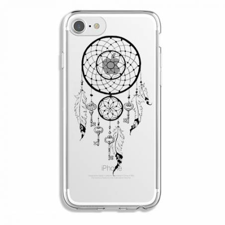 Coque transparente Iphone 7 / 8 feminine attrape reve cle