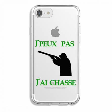 Coque transparente Iphone 7 / 8 jpeux pas jai chasse