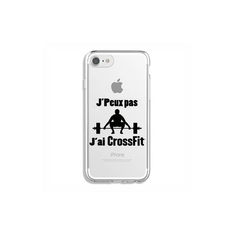 Coque transparente Iphone 7 / 8 jpeux pas jai crossfit